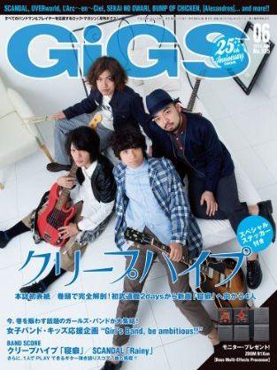Tak Matsumotoインタビュー掲載雑誌「GiGS」を購入&感想も!!