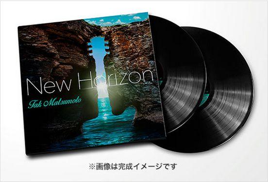 Tak Matsumoto「New Horizon」購入応募特典が発表!!気になる内容とは!?