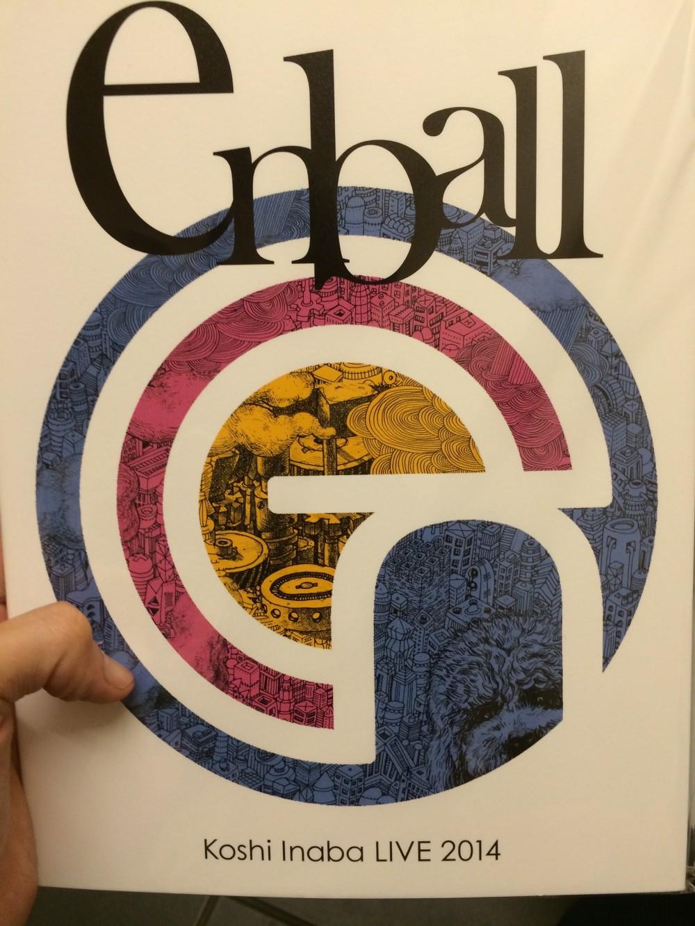 稲葉浩志ソロライブ「en-ball」のパンフイラストを担当したのは誰??