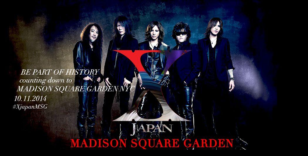 X JAPANのマディソン・スクエア・ガーデンライブにB'z松本さんの姿が!!