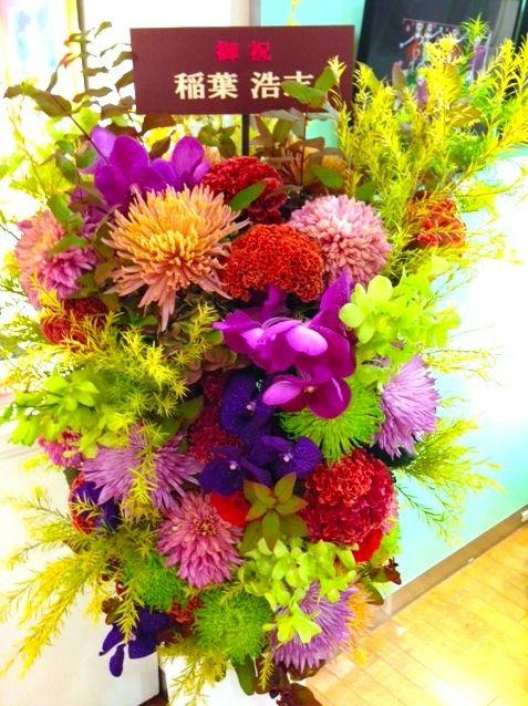 B'z稲葉さんがお花を贈り続けている女性画家とは??