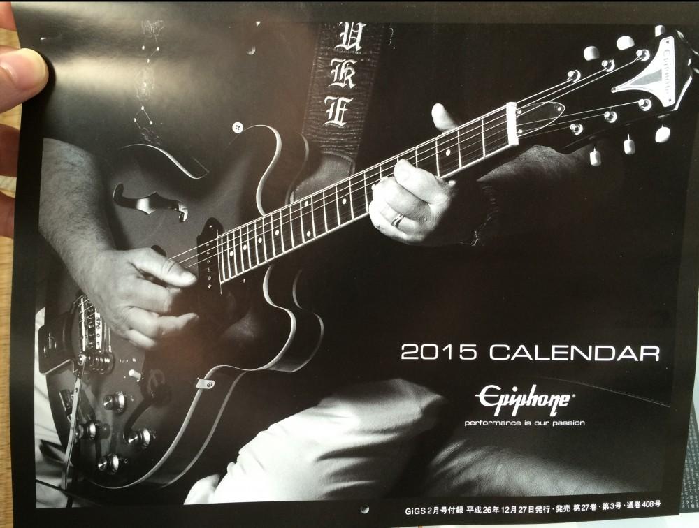 Epiphone2015CALENDAR TakMatsumoto 画像