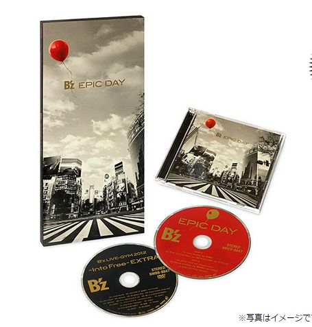 B'z、『EPIC DAY』DVD収録、-Into Free- EXTRA 大阪城ホールに参戦した感想をUPします!