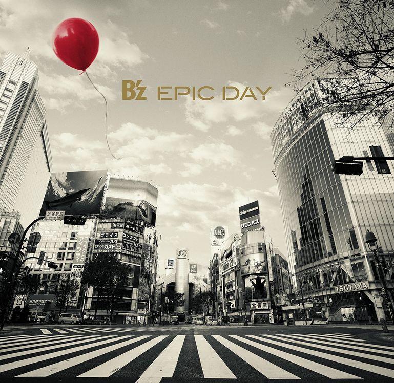 B'zニューアルバム「EPIC DAY」通常盤の収録曲一覧!