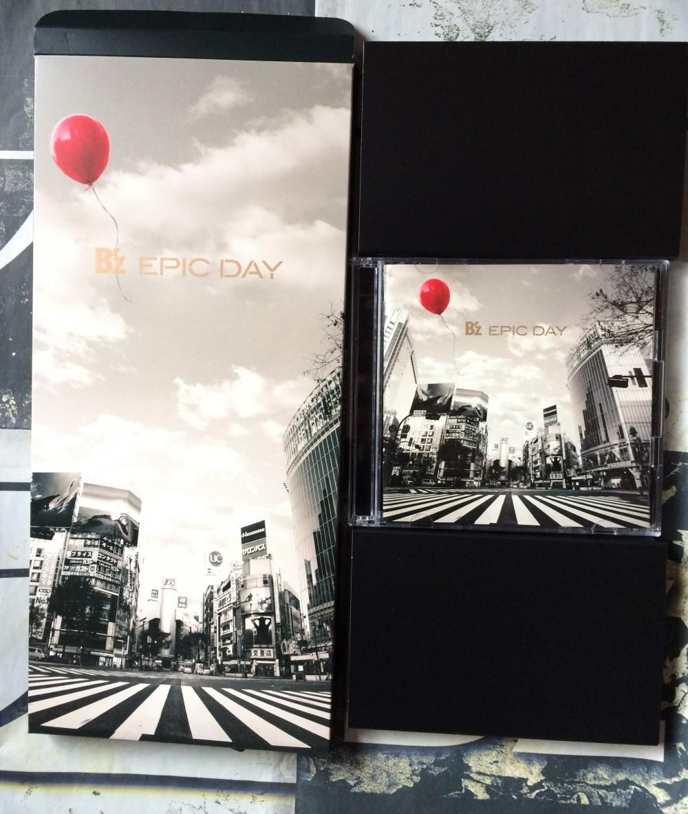 B'z EPICDAY DVD 画像