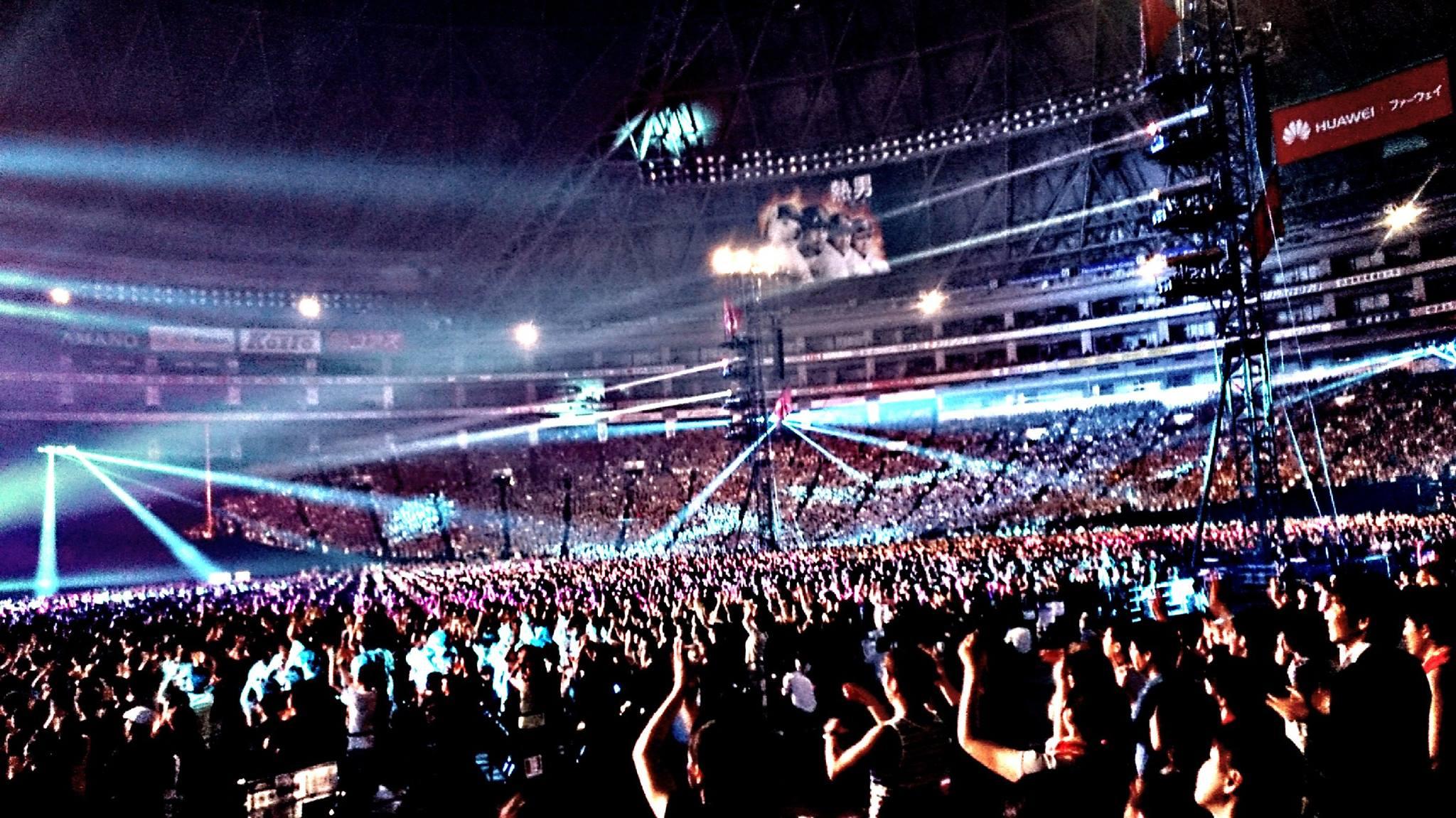 B'z LIVE-GYM 2015 -EPIC NIGHT-福岡 ヤフオク!ドーム1日目SNS情報まとめ!