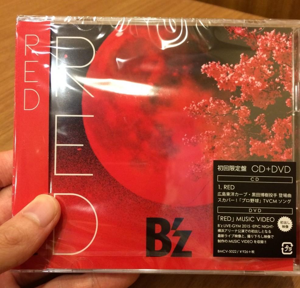 B'z「RED」が売り上げを伸ばした地域とは??