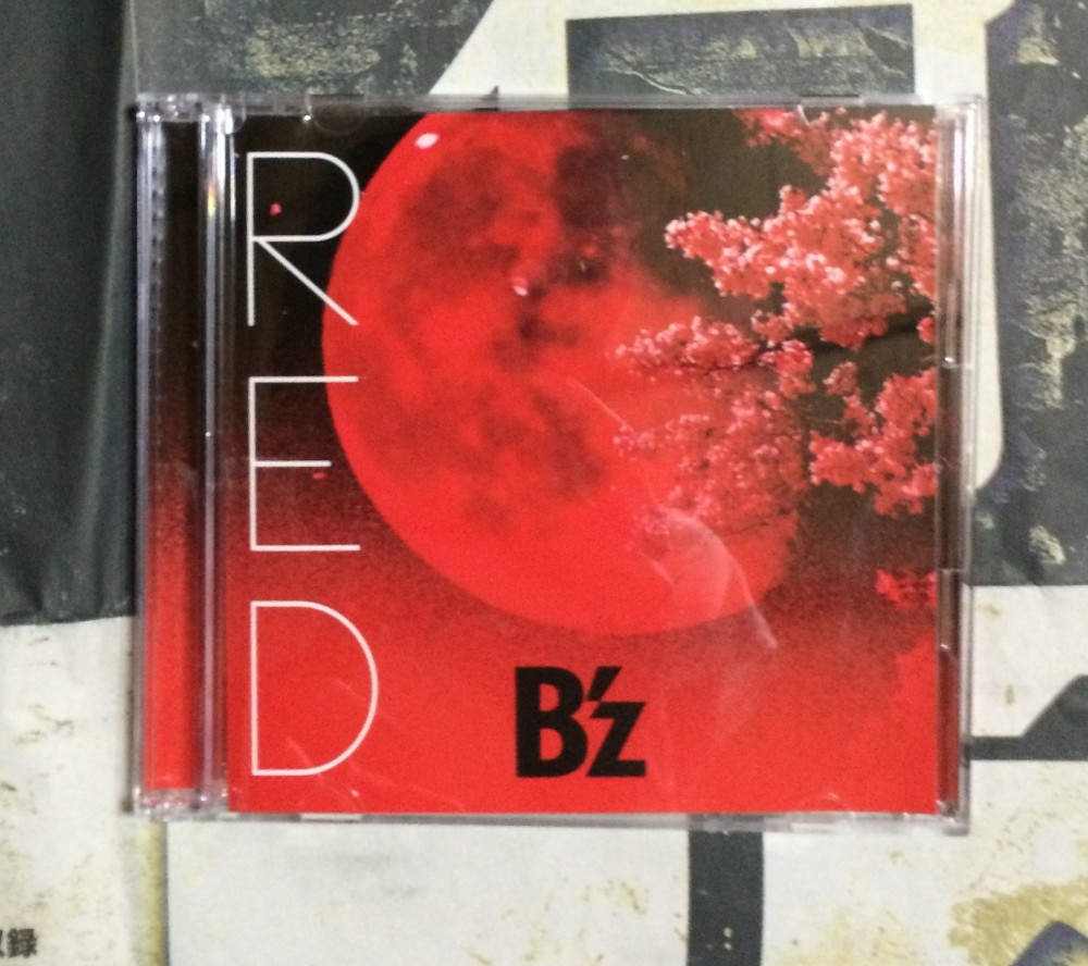 B'z「RED」BEING GIZA STUDIOにて着うたフル(R)配信スタート!!特典もあり!!