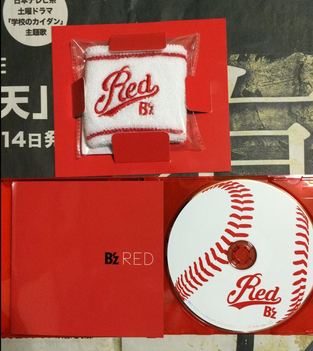 B'z「RED」「赤盤」遂にゲット!!(^^)画像あり!