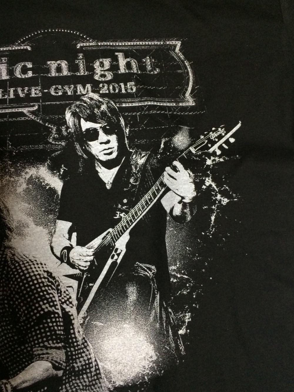 B'z,epic night,Zepp Namba,グッズ,Tシャツ,画像
