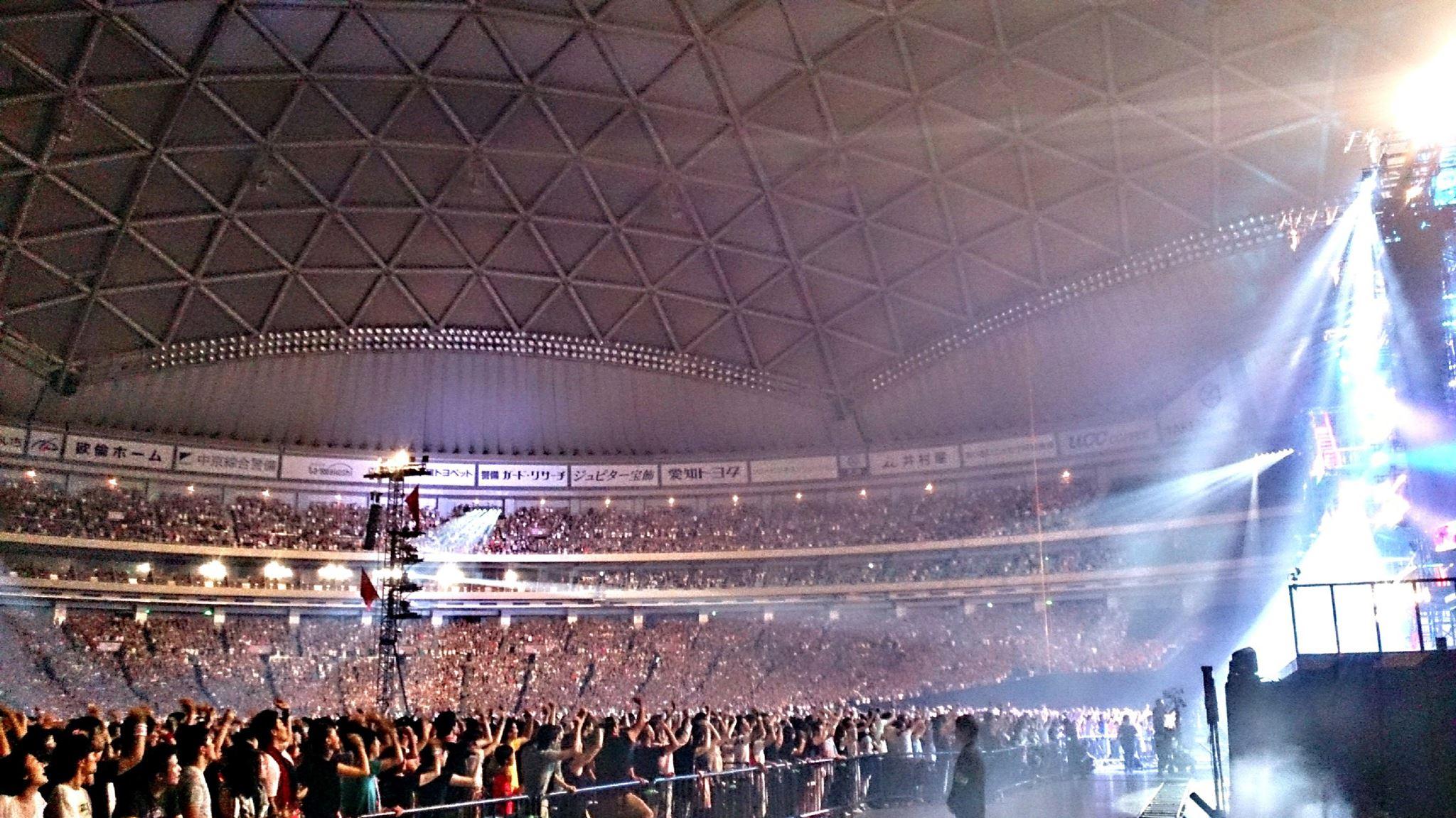 B'z LIVE-GYM 2015 -EPIC NIGHT- ナゴヤドーム初日SNS情報まとめ!!