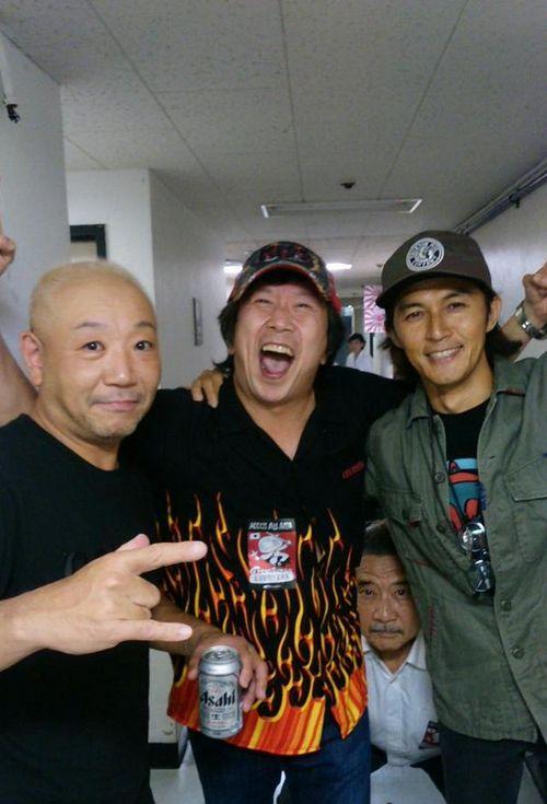 B'z稲葉さんが渋谷公会堂でラウドネスのライブに参戦!稲葉さん若い!